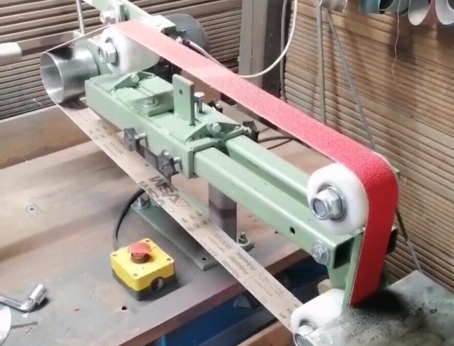 Bandschleifer selber bauen