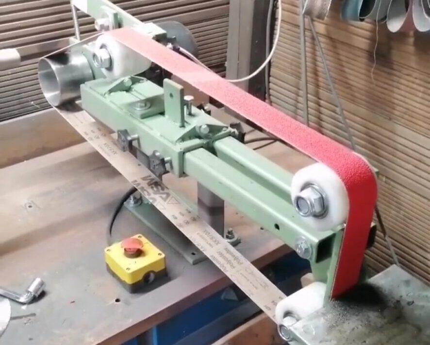 DIY Hand-Forged Bandschleifer